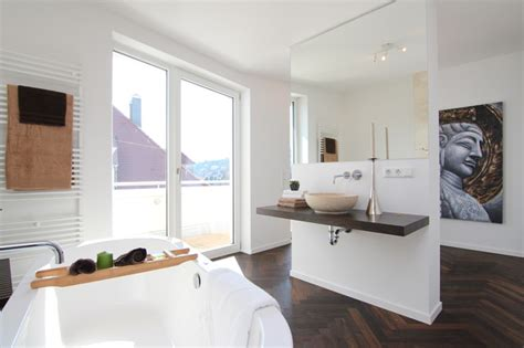 en suite badezimmer wellness oase im en suite badezimmer contemporary bathroom stuttgart by immprove barbara