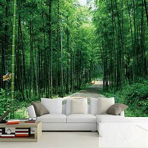 Online Buy Wholesale forest wallpaper bedroom from China ...