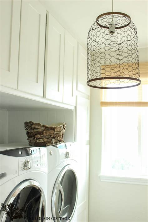 laundry room farmhouse light the wood grain cottage