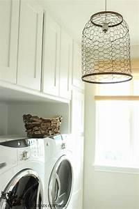 Laundry Room Farmhouse Light - The Wood Grain Cottage
