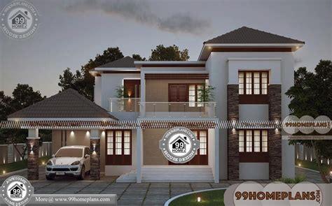 storey homes  balcony  contemporary house design plans