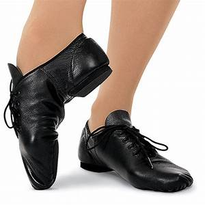 Capezio Split Sole Leather Jazz Shoe