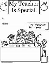 Teacher Coloring Appreciation Special Printable Ever Template Templates Church Colors sketch template