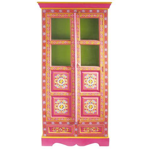 libreria maison du monde armoire en manguier multicolore l 90 cm roulotte maisons