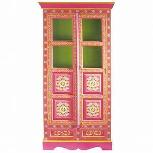 Maison Du Monde Armoire : armoire en manguier multicolore l 90 cm roulotte maisons ~ Melissatoandfro.com Idées de Décoration