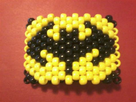 beads batman melty cuff bracelets kandi