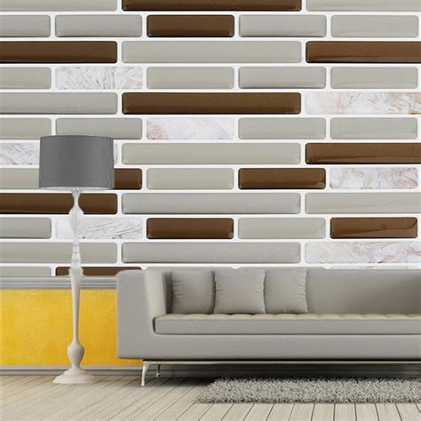 sticky tiles for kitchen 3d wall sticker self adhesive wallpaper ceramic tile 5811