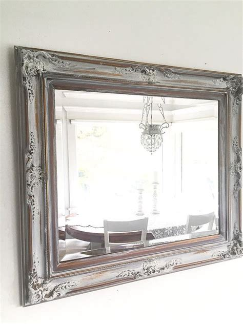 Ornate Bathroom Mirrors ornate wall mirror antique wood gold with white