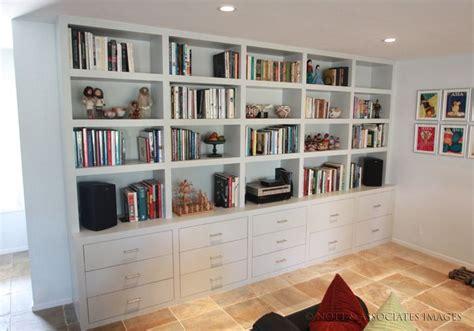 furniture tall bookshelf  books full bookcase room