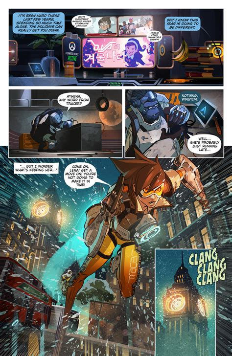"Overwatch Digital Comic ""reflections""  News Overwatch"