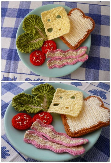 crochet cuisine över 1 000 bilder om virkad mat kakor på drops design mönster och virkning