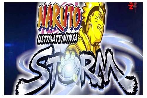 Naruto mugen storm 5 game