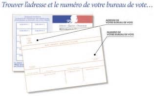 comment connaitre bureau de vote dans quel bureau de vote dois je voter élections 2017