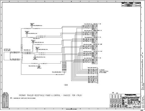 Freightliner Classic Ignition Switch Wiring Schematic by 2009 Cascadia No Rear Turn Signals No Power To Trailer