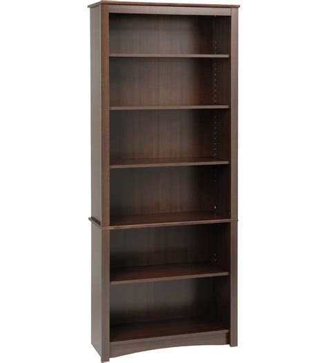 Wooden Bookcase by Wooden Bookcase 77 Inch In Bookcases