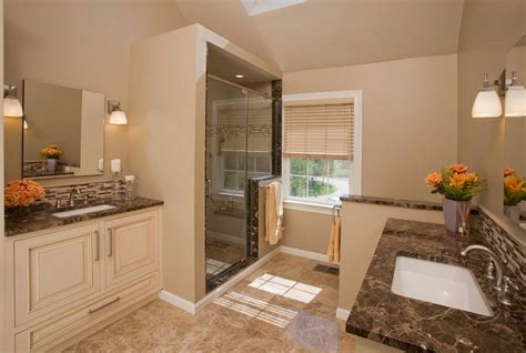 Small Master Bathroom Layout Ideas by Small Master Bathroom Design Ideas Remodeling Home