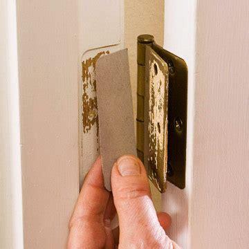 door hinge shims troubleshooting hinge problems how to repair any door in