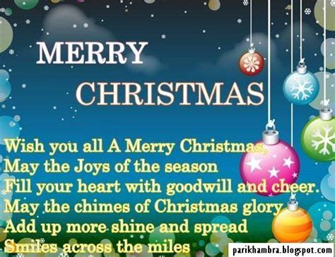 pari khambra merry christmas quotes images  friends