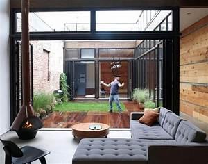 Petit Jardin Moderne : petit jardin d 39 int rieur moderne ouvert et ferm en 49 images ~ Dode.kayakingforconservation.com Idées de Décoration