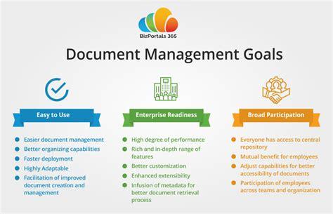 document management features offered  bizportals