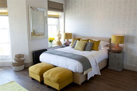 silver metallic area rug how you can use yellow to give your bedroom a cheery vibe
