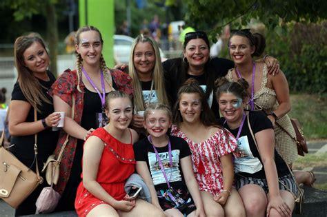 Little Mix fans queue to get into Gateshead International ...