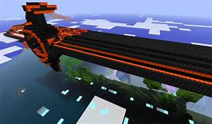 Tron Carrier Minecraft Project
