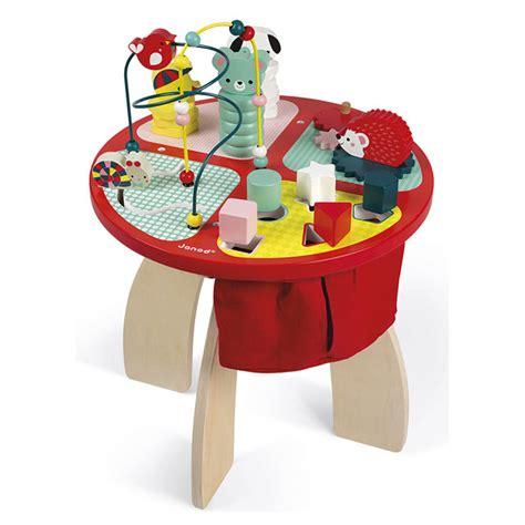cuisine janod en bois table d 39 activités baby forest en bois janod king jouet