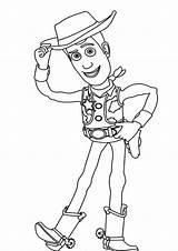 Sheriff Coloriage Lightyear Eclair Howdy Sherif sketch template