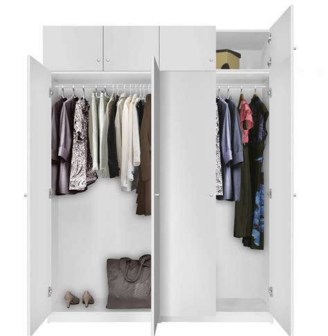 Standing Wardrobe by Alta Free Standing Wardrobe Package Contempo Space