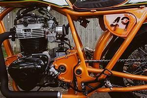 Racing Caf U00e8  Kawasaki W650  U2018high Noon U2019 By Speedwerks