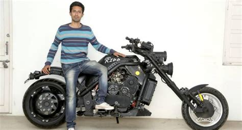 India's Handmade 1000cc Motorcycle Makes It To Limca Book