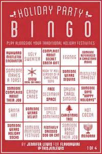 holiday party bingo neatorama