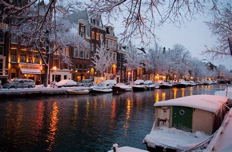 Christmas In Amsterdam We Heart It Snow Winter And
