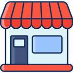 Icon Marketplace Lineal Shopping Icons Editor Open