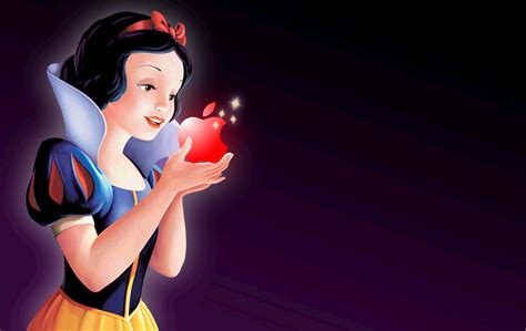 Snow White And Seven Dwarfs Cartoon Hd Background For Pc