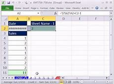 Excel Magic Trick 756 Create Sequential Dates Across