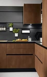Sleek, Contemporary, Kitchen, Cabinets, Minimalist, Handles, Inspiring, Kitchen, Design, Ideas