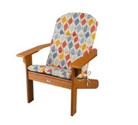 gray yellow orange geometric outdoor adirondack chair
