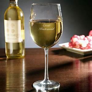 Personalized, White, Wine, Glass
