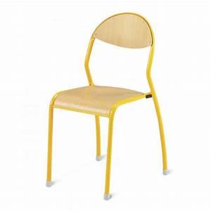 Chaise D école : chaise d 39 cole chaise scolaire axess industries ~ Teatrodelosmanantiales.com Idées de Décoration