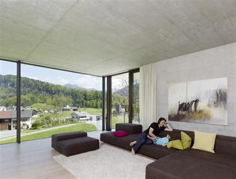 Moderne Häuser Mit Eckfenster by Architektenh 228 User Familiendomizil Am Hang