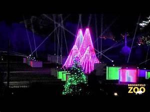 Brookfield Zoo Holiday Lights Holiday Magic At Brookfield Zoo Youtube