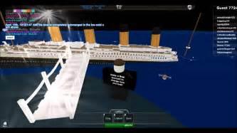 Titanic Sinking Simulator 2 by Titanic Sinking Simulation In Roblox Youtube