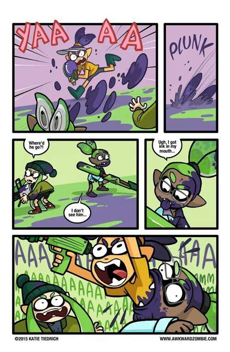 splatoon memes funny comics comic zombie awkward ambush well games smash super bros thing strikes game creative way inkling meme