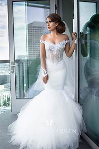 White Lace And Tulle Modern Off
