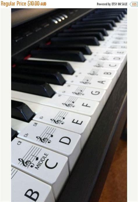 piano stickers standard keyboard piano stickers