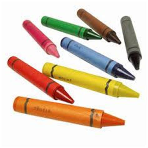 crayon set 4 in 1 print classroom objects flashcards easy notecards