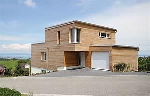 Haus Mit Holzfassade : einfamilienhaus mit holzfassade swisshaus ag ~ Markanthonyermac.com Haus und Dekorationen