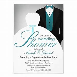 couples wedding shower invitations 13 cm x 18 cm With couples wedding shower invitation wording